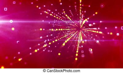 """flying"""", estrela, túnel, pointed, cinco, """"askew"""