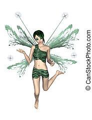 Flying Fairy Butterfly