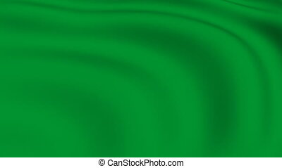 Flying Flag of LIBYA | LOOPED |