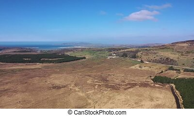 Flying from Glenties to Maasin County Donegal - Ireland