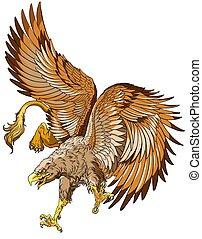 flying griffin or griffon