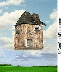 Flying house