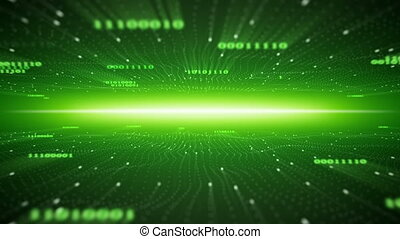 flying in binary cyberspace seamless loop