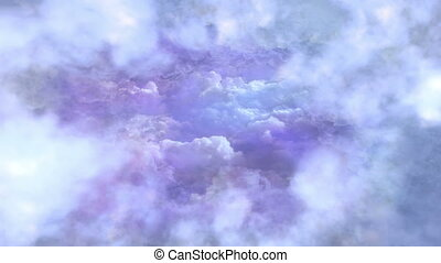Flying In The Sky Background