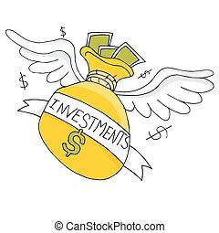 Flying Investment Bag