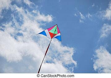 Flying kite 3