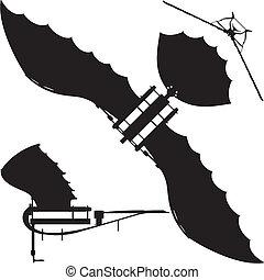 Flying Machine Leonardo Hang Glider