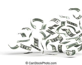 Flying Money (Dollar)