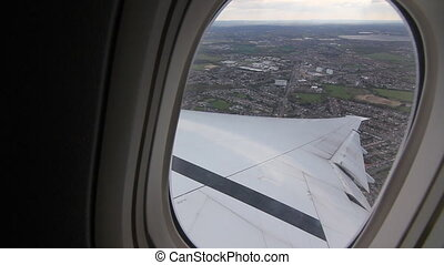 Flying out of Heathrow Airport, UK. - Flying out of Heathrow...
