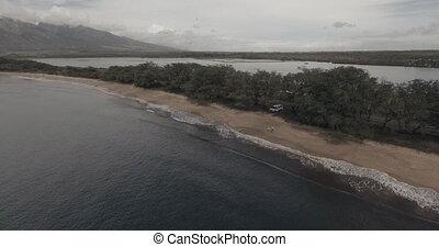 Maui Coastline. - Flying over the Maui Coastline. 4K UHD...