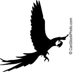 Flying Parrot