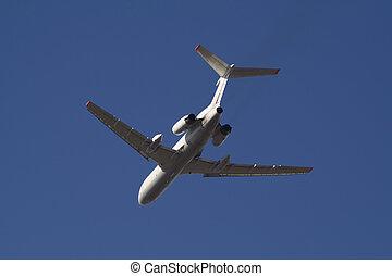 Flying passenger plane 2