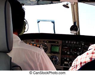 Flying - Pilot flying craft