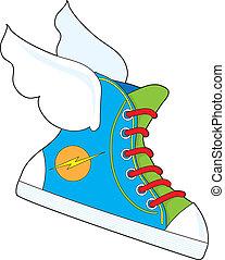 Flying Sneaker