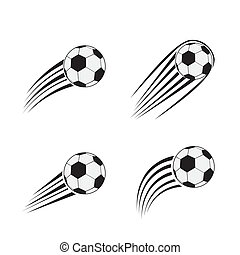 Flying Soccer Balls Flying Soccer Ball In The Air Falling
