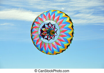 Flying Sombrero (2) - This is a photo of a sombrero kite...