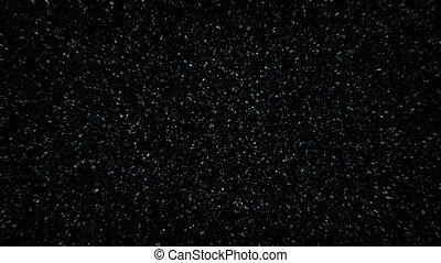 Flying Through Star Field