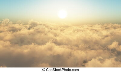 Flying Through The Clouds.Loop