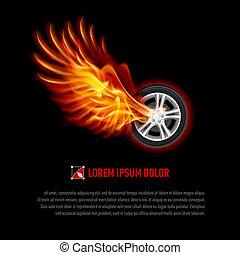 Flying wheel