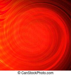 flytande, bakgrund, röd