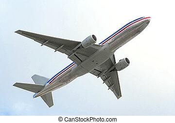 flyvemaskine, luft