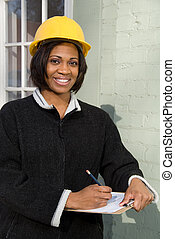 Fmale Construction Supervisor