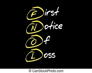 first notice