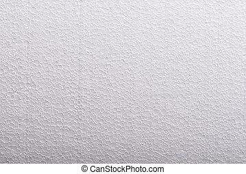 Foam plastic macro texture