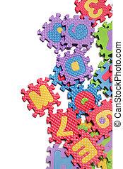 Foam puzzle letter uppercase