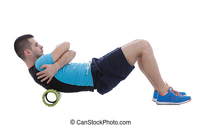 Foam Roller Exercises - Foam roller exercise explanation and...