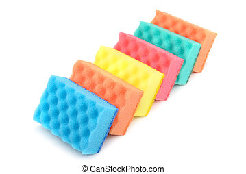 sponge  - foam sponge for cleaning the house