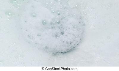 Foam Washes Down Sink - Foam washing down the drain, could...
