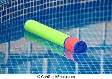 Foam water gun