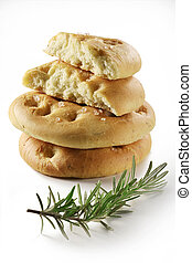 focaccia flat bread with rosemary 6