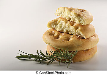 focaccia flat bread with rosemary _7