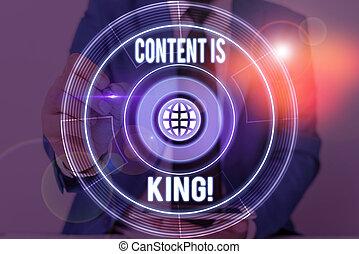 focalizado, results., escrita, conteúdo, non, crescendo, letra, texto, king., visibilidade, busca, conceito, marketing, significado, pago