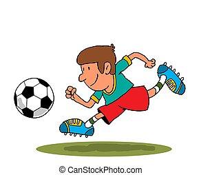 foci játékos