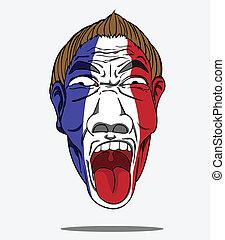 foci rajongó, franciaország