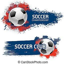 focilabda, állhatatos, foci játék, tervezés, sport, transzparens