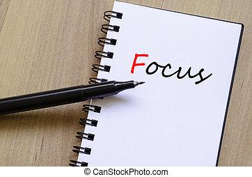 foco, conceito