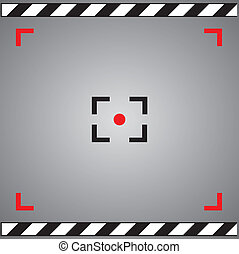 focus camera symbol in framework
