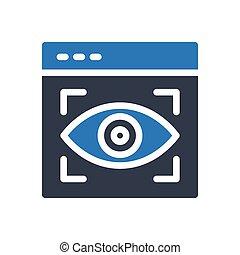focus glyph color icon