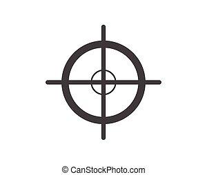 Focus Logo Template vector icon