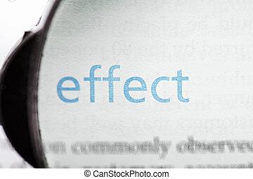Focus on effect