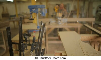 focus on F-clamps or bar clamps and Carpenter or Joiner...