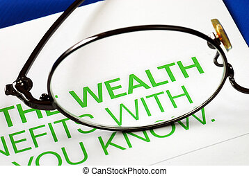 Focus on growth in wealth