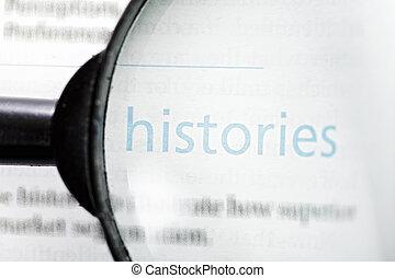 Focus on histories