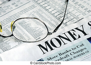 Focus on Money Investing from a newspaper