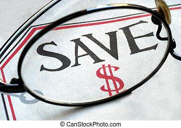 Focus on saving money when making purchase
