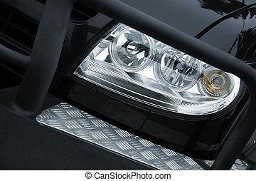 headlight - focus point on center of headlight